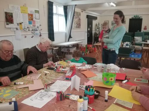 Intergenerational Cedar Art Club